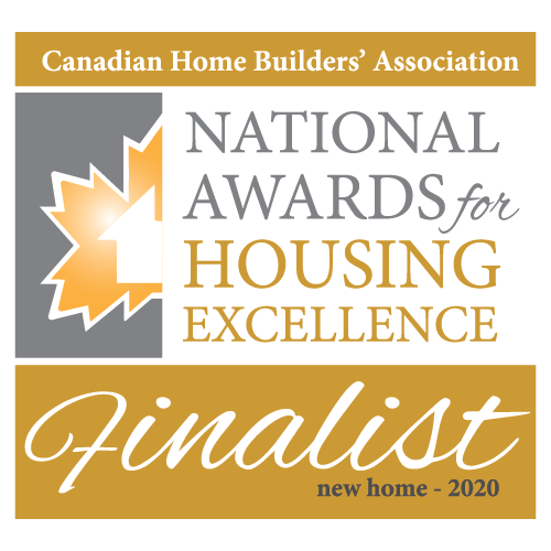 Canadian Home Builders' Association National Awards for Housing Excellence Finalist Logo