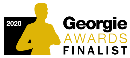 2020 Georgie Awards Finalist Logo